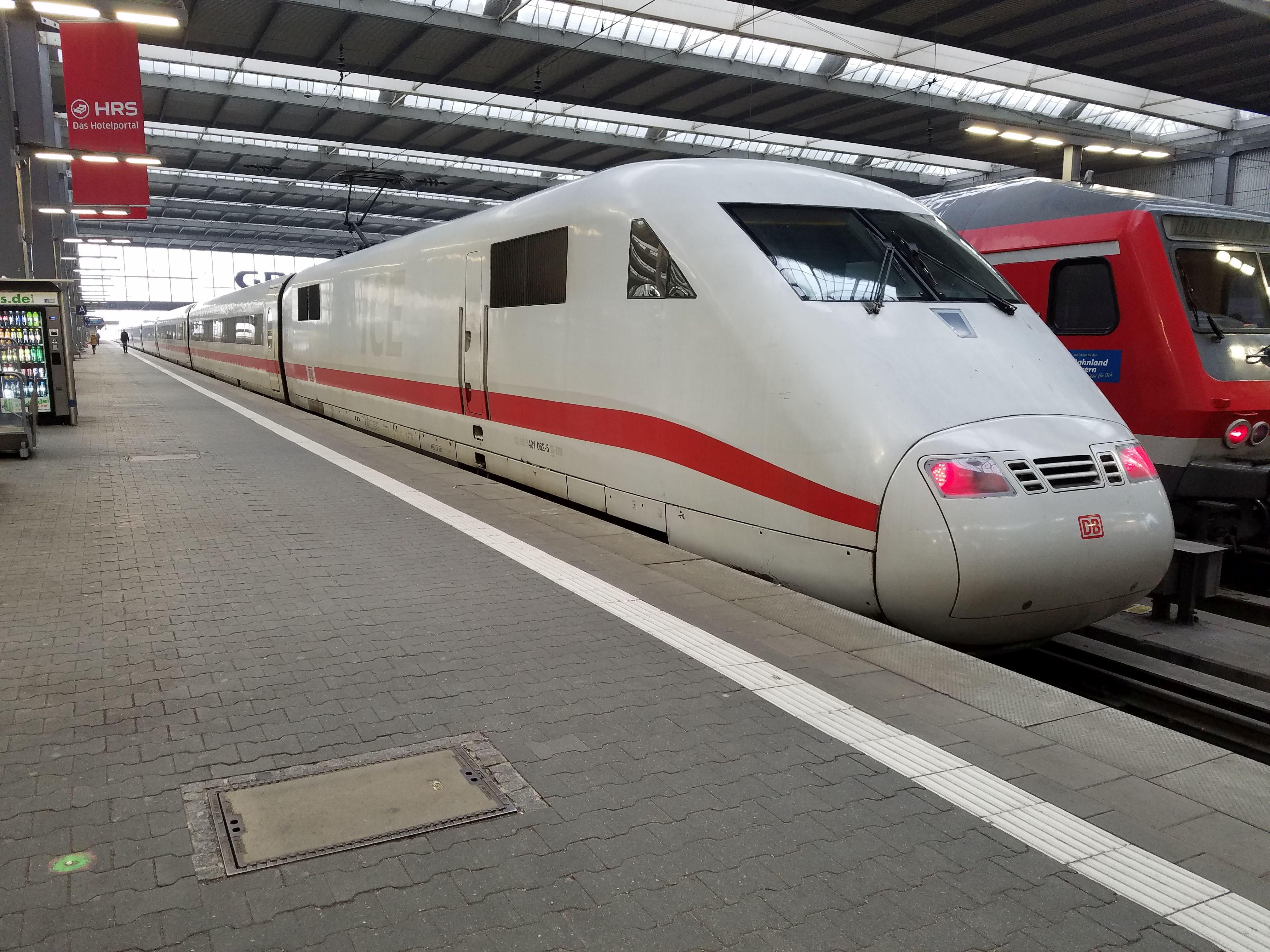 ICE 401 062, München, 2018